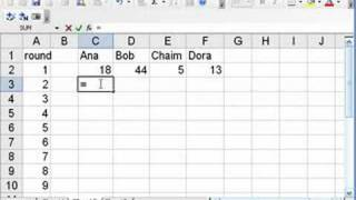 Excel for Math Classes: Candy Game