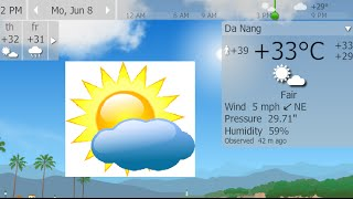 Chrome extension 3/100: Check weather in your area