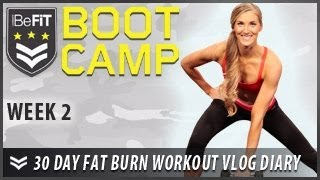 30 Day Fat Burn Workout Diary with Nikki Limo: Week 2 - BeFit Bootcamp