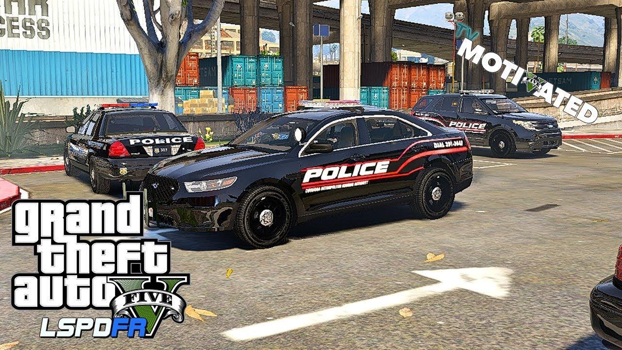 CMHA Patrol Pt 2 -(:GTA 5 Urban LSPDFR Pc Mods:) Day #2
