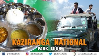 Assamese Jalpan (Breakfast) + Massive Vegetarian Lunch Thali at Kaziranga National Park