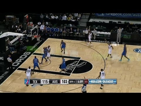 Malcolm Thomas - Highlights of 2013-14 NBA D-League Season