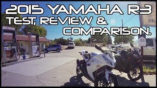2015 Yamaha R3 Test-Ride, Review and Comparison