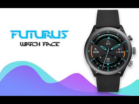 Futurus Watch Face Clock Live Wallpaper Apps On Google Play