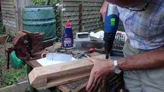 How To Make A Leatherworkers Clamp Or Stitching Pony