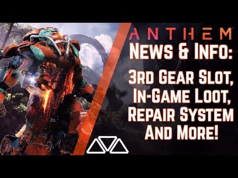 Anthem News & Info: Interceptor's Repair Mechanic! New Gameplay & More!
