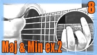 """Cours de Guitare pour Débutants : """"Les accords Majeurs & Mineurs - exercice 2 : D / C / Em / A"""""""