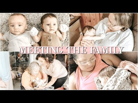 VLOG: MEETING FAMILY FOR THE FIRST TIME! ♡