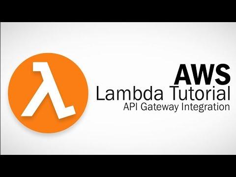 AWS Lambda Tutorial - API Gateway Integration - YouTube