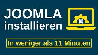 Joomla installieren (Anleitung auf Deutsch)