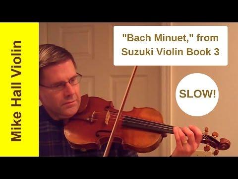 Suzuki Violin Book  Minuet Slow Play Along