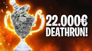 22.000€ DEATHRUN! CIZZORZ 3.0! 🏆 | Fortnite: Battle Royale