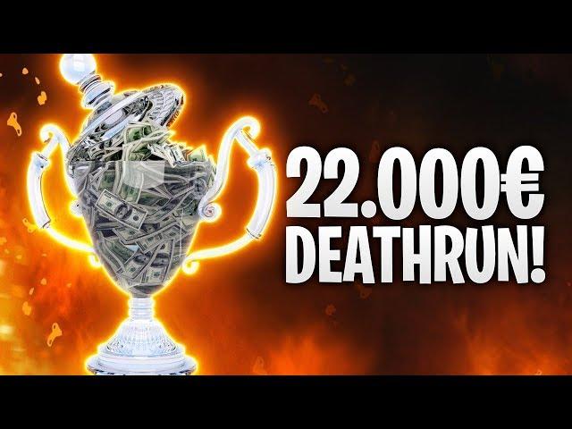 22.000€ DEATHRUN! CIZZORZ 3.0! 🏆   Fortnite: Battle Royale