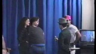 Pro Wrestling Weekly Segment With Ron Niemi, Haystacks Calhoun Jr., And Tommy Starr Involving A Pie