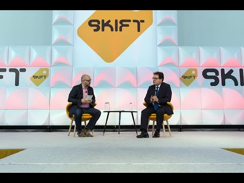 Brazil Tourism's President at Skift Global Forum
