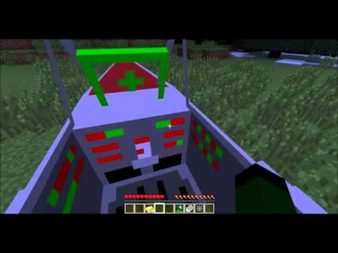 Minecraft:mods: flans vehicles