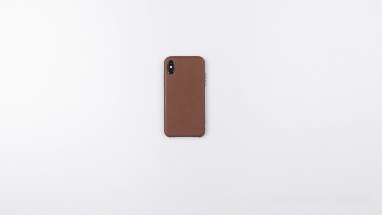 factory price ef317 02f7f Deen LeatherSkin Snap On Case for iPhone | SENA Cases - YouTube