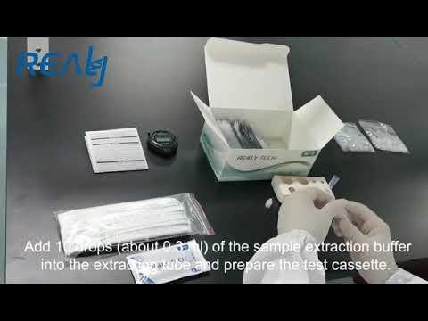Test Hanghzhou Realy Tech Antigen Rapid test SARS-CoV-2