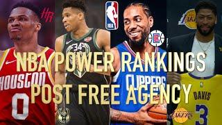 Nba Power Rankings Post Free Agency  Top 10