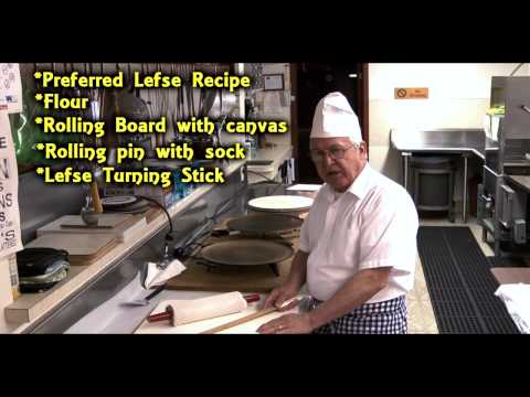 How to Make Lefse - Bothell Sons of Norway