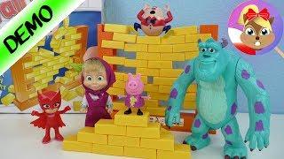Humpty Dumpty's Ściana gra zręcznościowa test na żywo