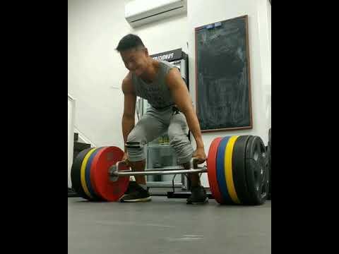 羅浩銘硬舉新紀錄 473lbs - YouTube