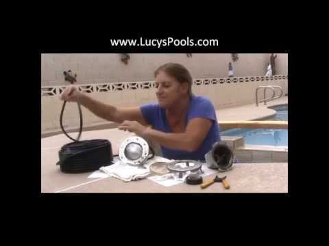 Spa (or Pool) Light Complete Replacement - lucyspools