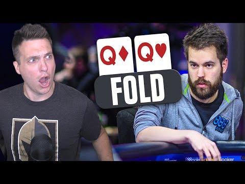 FOLDING QUEENS In $100,000 Buy-In Poker Tournament?! (2019 WSOP)