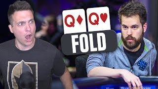 FOLDING QUEENS In $100,000 Buy-In Poker Tournament?! (2019 WSOP)