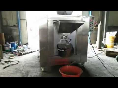 Gas Heating Cocoa Beans Roaster Machine|Chickpeas Roasting Equipment