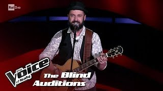 "Marco Priotti ""Radioactive"" - Blind Auditions #4 - The Voice of Italy 2018"