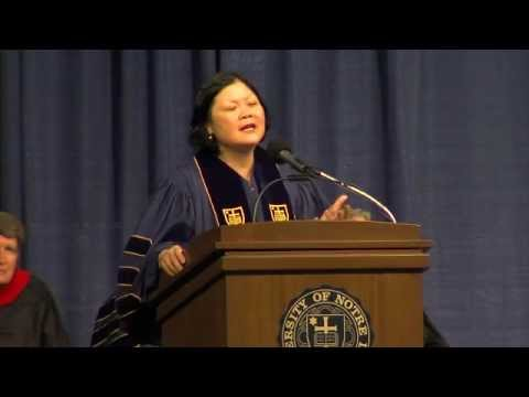 Mendoza College of Business Undergraduate Commencement Cerem