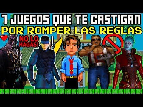 7 Videojuegos que te Castigan por ROMPER las REGLAS