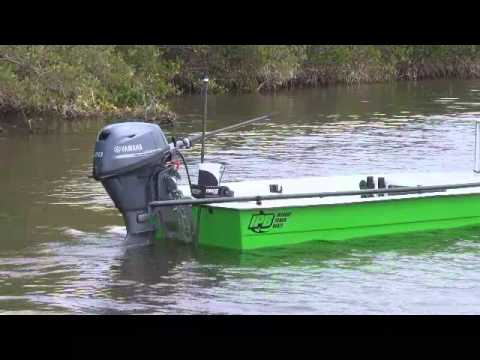 Fishing for redfish with the power pole micro anchor youtube for Power pole fishing
