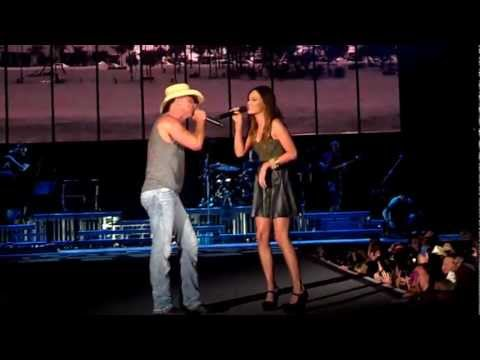 Kenny Chesney & Kacey Musgrave - Come Over Live 3-16-13