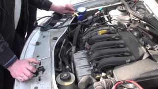 Заправка кондиционера в авто Рено Дастер г. Самара(, 2014-03-23T13:07:47.000Z)