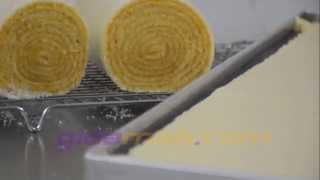Rulo Pasta Makinesi - Swiss Roll Machine