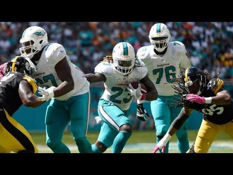 Jay Ajayi vs Steelers (NFL Week 6 - 2016) - 204 Yards + 2 TDs! | NFL Highlights HD