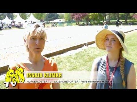 Bild: Pferd International 2016 - Interview mit Dressurreiterin Ingrid Klimke, der 2fachen Siegerin
