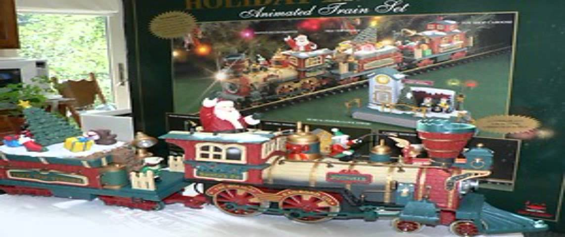 christmas electric train sets - YouTube