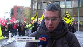 Social : mobilisation à la poste de Guyancourt