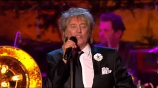 VINTAGE ROD STEWART - SKYE BOAT SONG FOLLOWED BY STIRLING CASTLE PERFORMANCE!