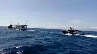 Detik detik pengejaran kapal KMN. TURU CINNAE