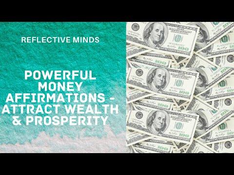 I AM MONEY MAGNET-WELCOME WEALTH & PROSPERITY #Millionaire Mindset!