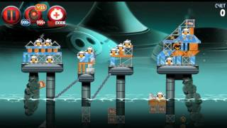 Angry Birds Star Wars 2 Rise of clones All levels (Pork Side)