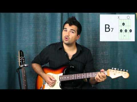 Chord Progressions: E, A, B7