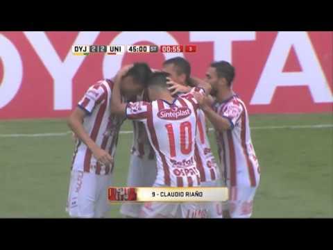 Todos los goles. Fecha 1. Primera División 2016.