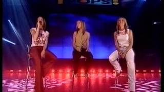 Atomic Kitten - whole again - top of the pops original broadcast.