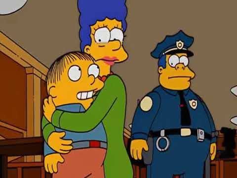 The Simpsons The Wandering Juvie part 2