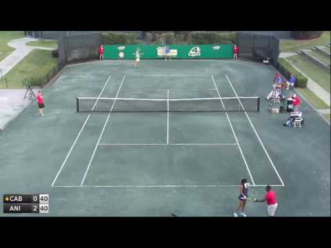 Cabrera Lizette v Anisimova Amanda - 2017 ITF Dothan